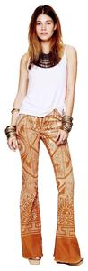 Free People Discharge Bali Rare Sold Out Flare Leg Jeans-Distressed