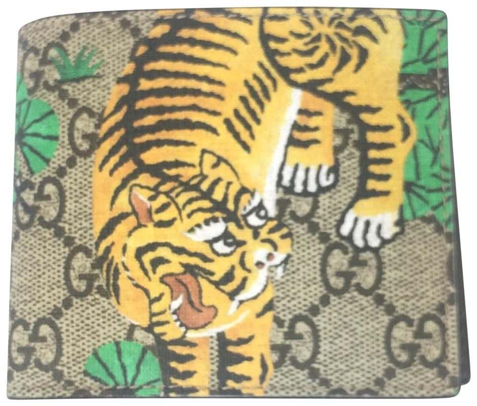 gucci gucci bengal tiger gg supreme bifold wallet 451465 - Tiger Pictures To Color 2