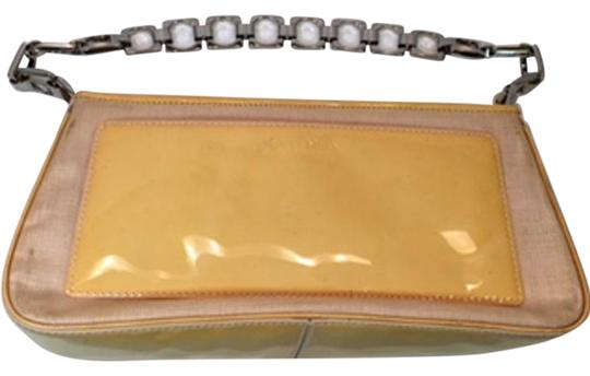 Cole Haan Satchel in Cream and light yellow Image 0