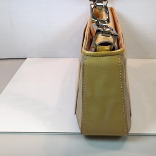 Cole Haan Satchel in Cream and light yellow Image 4