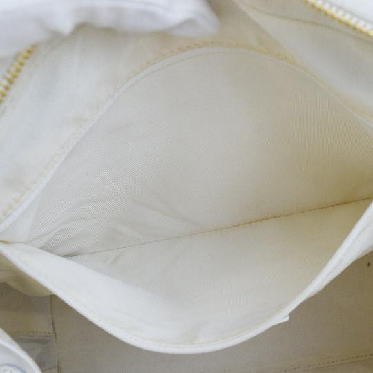 Chanel Satchel in white Image 11