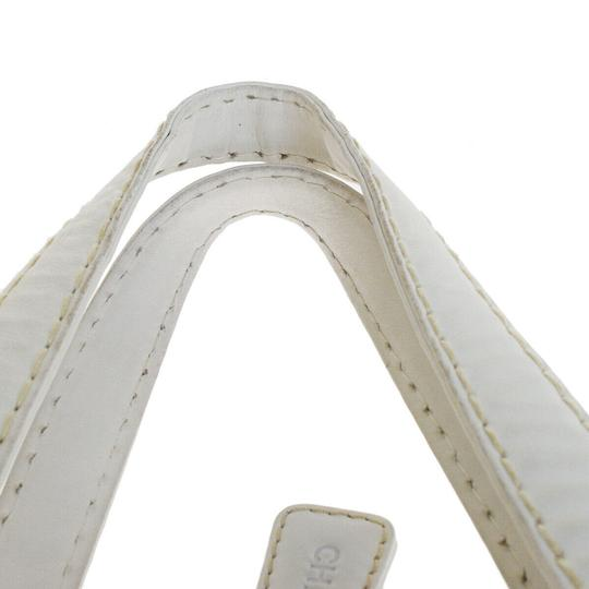 Chanel Satchel in white Image 4