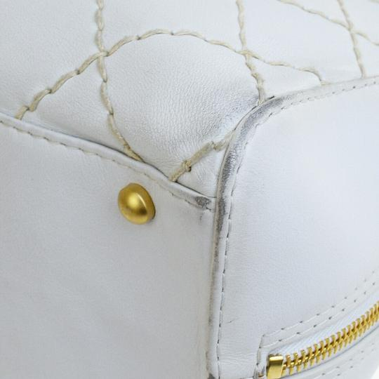 Chanel Satchel in white Image 8