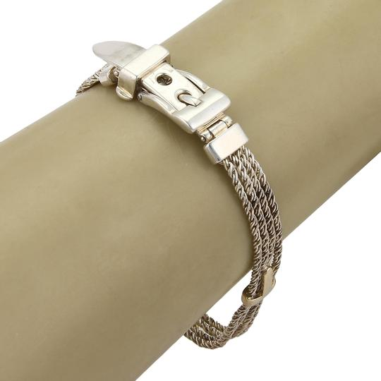 Preload https://img-static.tradesy.com/item/22778897/tiffany-and-co-18k-ygold-925-silver-triple-rope-t-design-buckle-clasp-bracelet-0-1-540-540.jpg