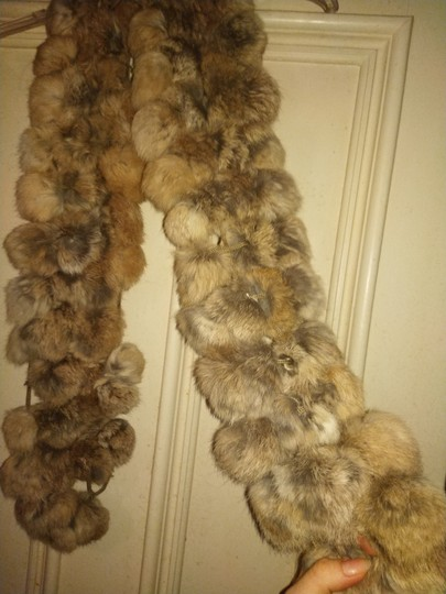 Other Knitted fur scarf Image 1