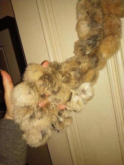Other Knitted fur scarf Image 2