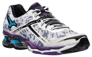 Mizuno Wave Creation 15 Running Shoes White/Aquaruis/Pansy Athletic