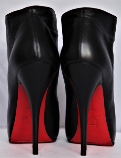 Christian Louboutin Thigh High Ankle Pumps Black Boots Image 6
