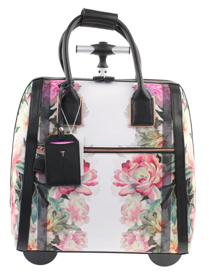 b3cfdcb35 Ted Baker Naoimie Painted Posie Pink   Floral Polyester Weekend ...