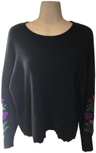Autumn Cashmere Embroidered Sweater