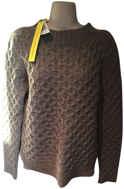 Preload https://img-static.tradesy.com/item/22779433/catherine-malandrino-heather-brown-new-with-tags-sweaterpullover-size-12-l-0-2-650-650.jpg