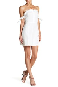 English Factory short dress White Ruffle Summer on Tradesy