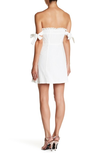 English Factory short dress White Ruffle Summer on Tradesy Image 2