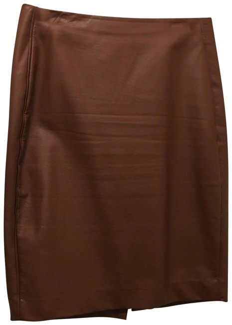 Preload https://item4.tradesy.com/images/the-limited-caramel-brown-faux-leather-skirt-size-10-m-31-22779478-0-2.jpg?width=400&height=650
