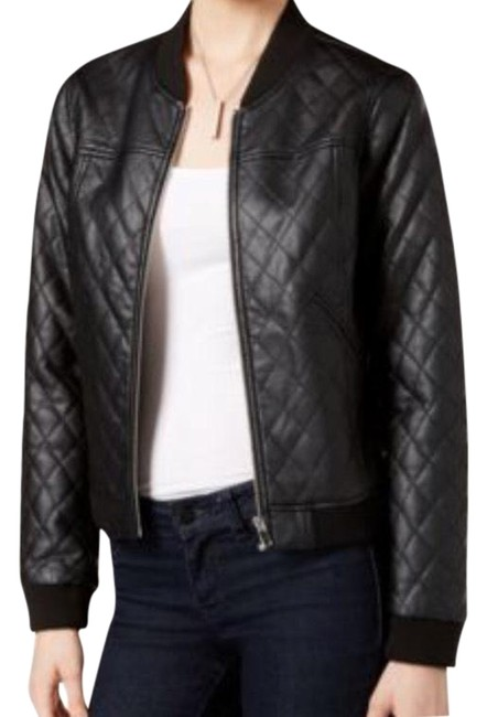 Preload https://img-static.tradesy.com/item/22779571/bar-iii-black-quilted-faux-bomber-jacket-size-8-m-0-2-650-650.jpg
