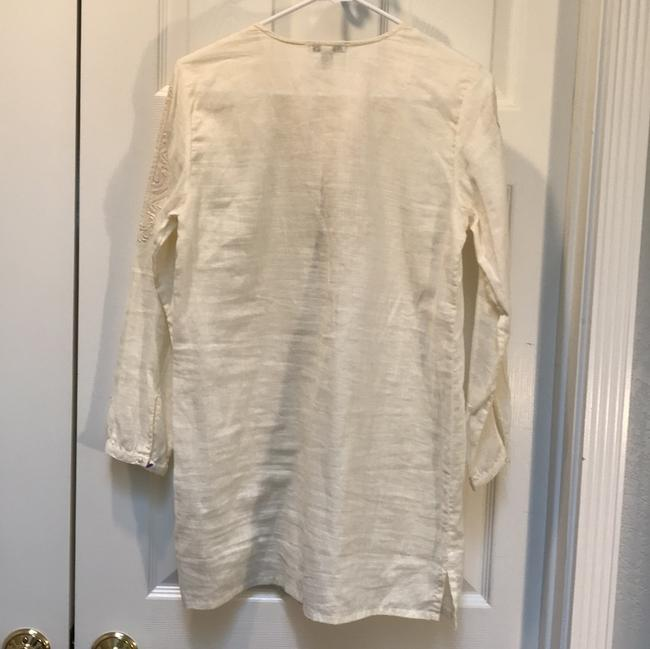 J.Crew Linen Cotton Embroidered Longsleeve Tunic Image 8