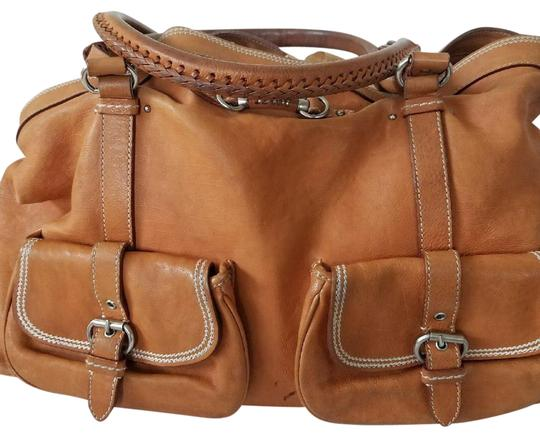 Preload https://img-static.tradesy.com/item/22779757/dior-lovely-tan-lambskin-leather-satchel-0-1-540-540.jpg