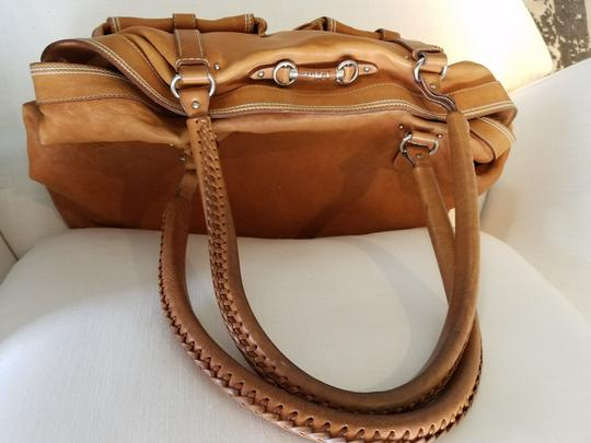 Dior Satchel in Tan Image 6