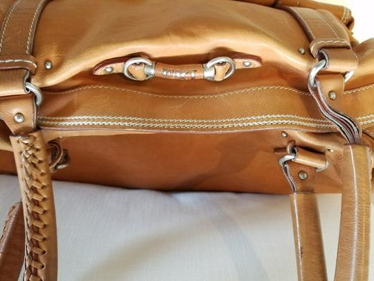 Dior Satchel in Tan Image 7