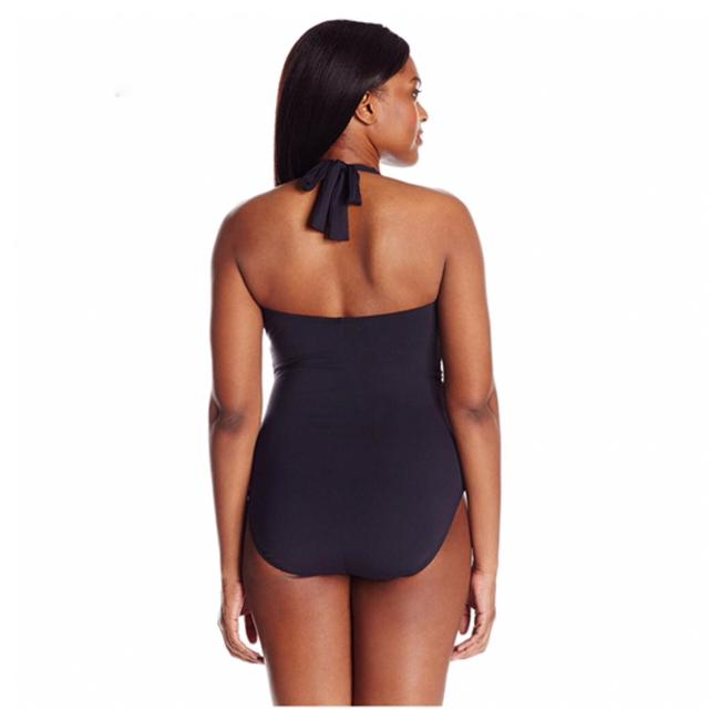 Blue Rod Beattie New with Tags Plus Cruise Control Halter One piece Swimsuit Lace Up Swimsuit Image 1