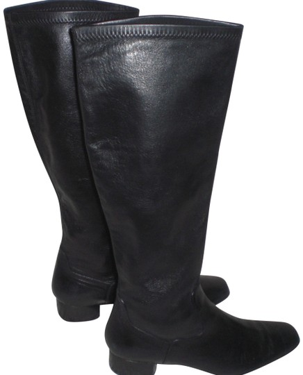 Preload https://img-static.tradesy.com/item/22780052/cole-haan-black-847-made-in-italy-shinny-leather-b-bootsbooties-size-us-65-regular-m-b-0-2-540-540.jpg
