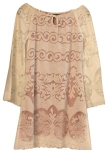 Union of Angels short dress white and light pink. on Tradesy