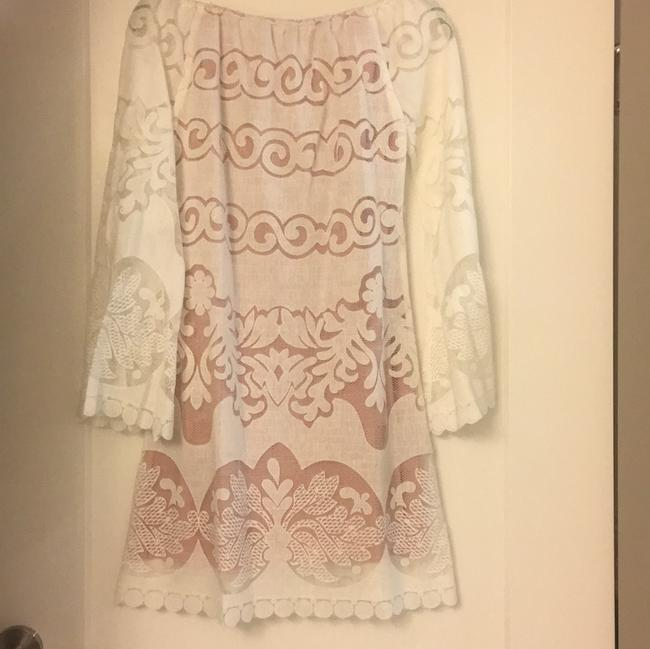 Union of Angels short dress white and light pink. on Tradesy Image 3
