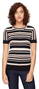Kate Spade Short Sleeve Striped Sweater