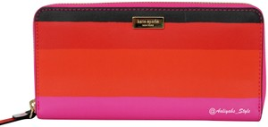 Kate Spade Kate Spade Laurel Way Bonita Stripe Multi Leather Wallet