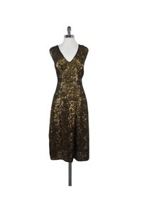 Tracy Reese short dress Gold Sequined on Tradesy