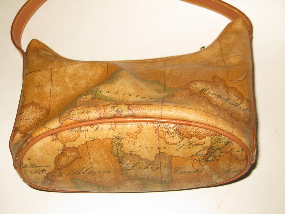 Alviero martini la classe atlas world map coated brown canvas 12345678 gumiabroncs Image collections