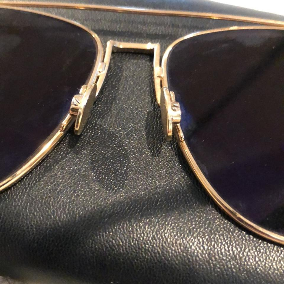 374beb8fe1c Dior Copper Gold Burgundy Brown Gold Mirror Technologic Aviator 57mm ...