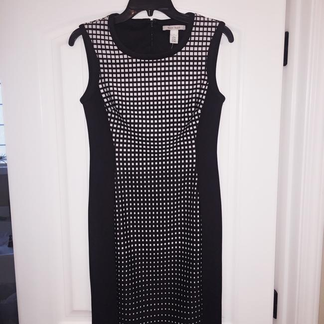 Black/ white Maxi Dress by White House | Black Market Image 1