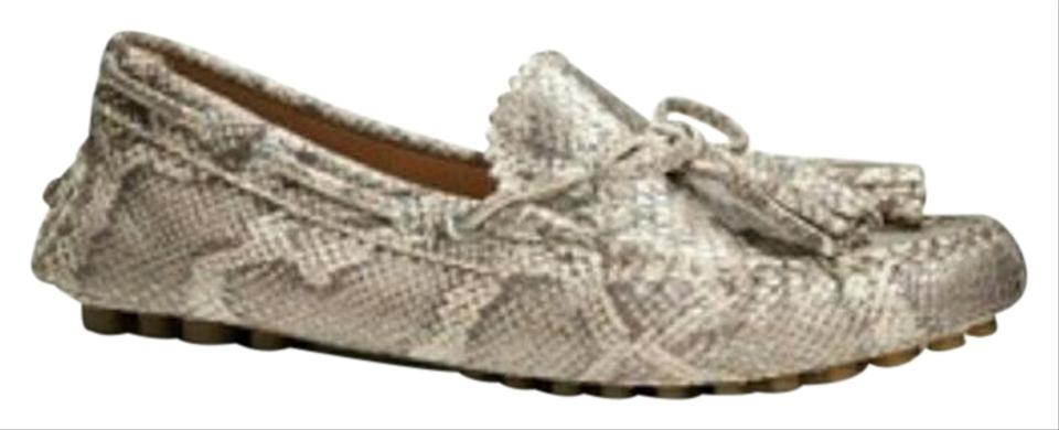 476e9428414e Coach Snake Nadia Driving Loafers In Print Flats Size US 7.5 Regular ...