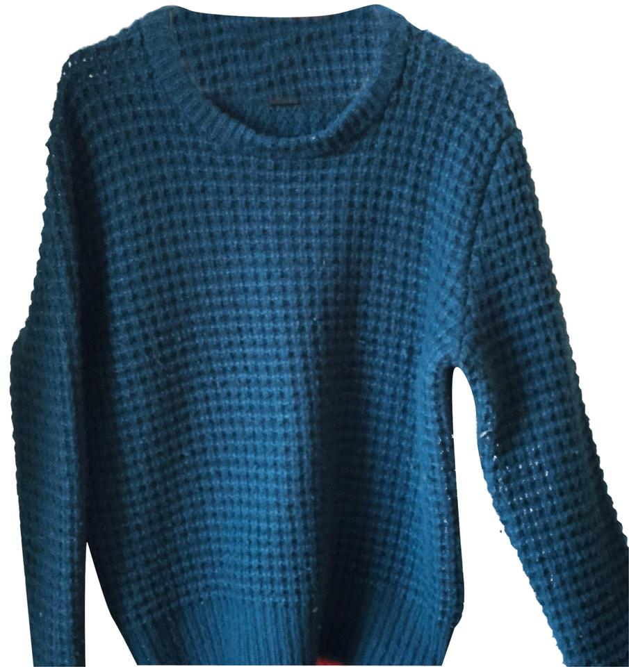 marc by marc jacobs green blue teal color sweater pullover size 8 m tradesy. Black Bedroom Furniture Sets. Home Design Ideas