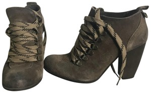 Boutique 9 brown with printed lace Boots