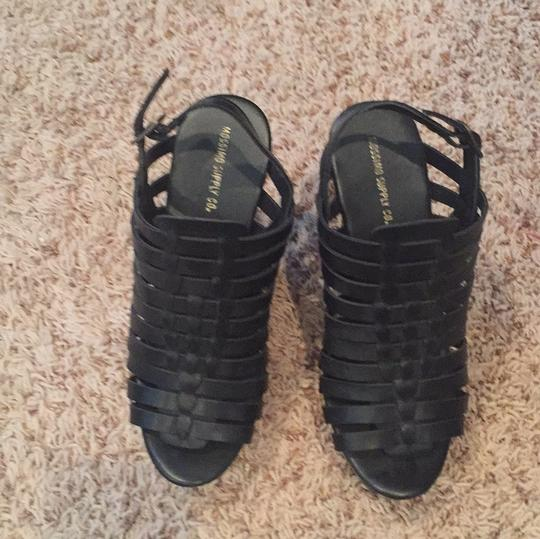 Mossimo Supply Co. black Wedges Image 2