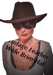 Henschel Hat Company Vintage//Henschel Hat Company/All Leather/Auzzie