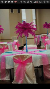 Wedding Day Reception Bachlorette Party Or Baby Shower Linens And Decor In A Box