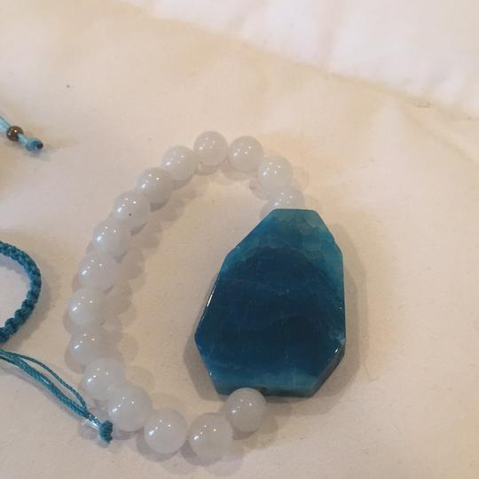 Geode And Hamsa set of 3 bracelets Image 5