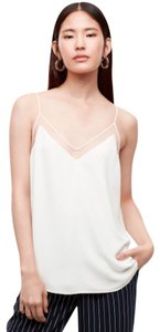 Aritzia Mesh Sexy Slinky Classic Lace Top Nude