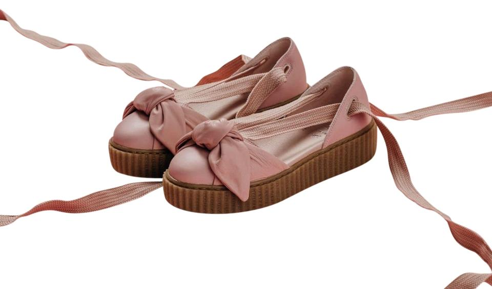 size 40 970cb 1f8dc Pink Bow Creeper Sandals
