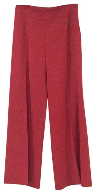 Tracy Reese Pink Detailed Trouser Pants Size 4 (S, 27) Tracy Reese Pink Detailed Trouser Pants Size 4 (S, 27) Image 1