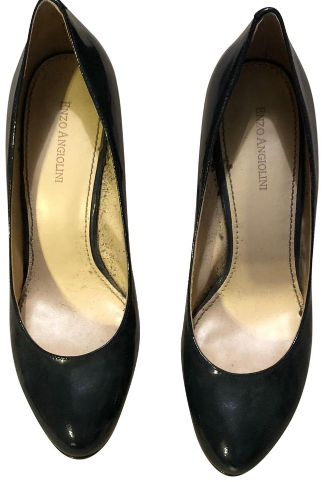 8286b26aa71 Enzo Angiolini Navy Blue Pumps Size US 9 Regular (M