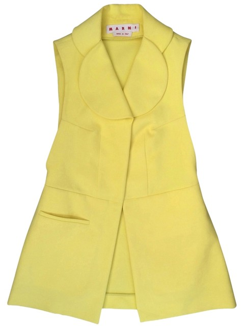Preload https://item4.tradesy.com/images/marni-yellow-summer-vest-size-10-m-2278218-0-0.jpg?width=400&height=650