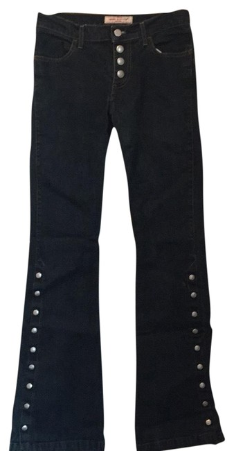 Preload https://img-static.tradesy.com/item/22782294/miss-sixty-dark-rinse-studded-button-down-flare-leg-jeans-size-27-4-s-0-1-650-650.jpg