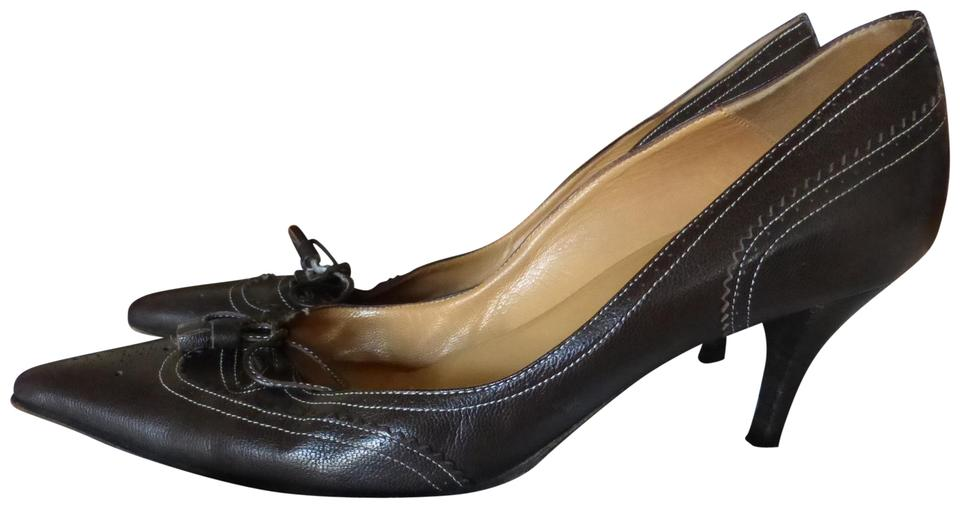 WOMEN Hermès Brown and Italy Pumps High quality and Brown low effort 071099