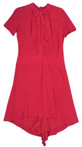 Joseph short dress Red Silk on Tradesy