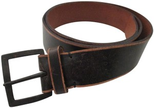 Banana Republic Leather Brushed Bronze Belt