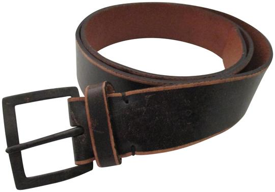 Preload https://img-static.tradesy.com/item/22782521/banana-republic-dark-brown-tan-trim-leather-brushed-bronze-belt-0-1-540-540.jpg